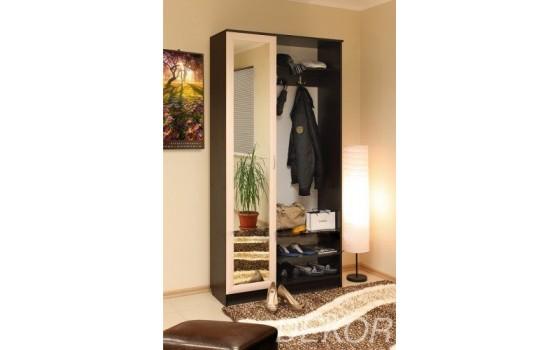 Комплект мебели для прихожей Анечка-1 с большим зеркалом