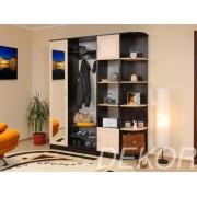Набор мебели в прихожую Анечка-3 с угловым элементом и колонкой для белья
