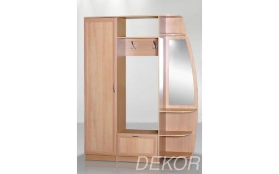 Мебель в прихожую Анна-5 (угловая секция с зеркалом)