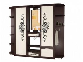 """Набор мебели в прихожую """"Жозефина-10"""" с двумя угловыми секциями"""