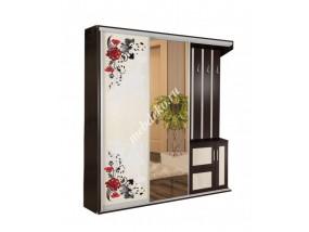 """Комплект мебели для прихожей """"Жозефина-5"""" (шкаф-купе с декором и зеркалом)"""
