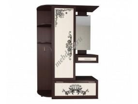 """Набор мебели в прихожую """"Жозефина-7"""" с угловой секцией и зеркалом"""