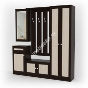 Мебель в прихожую Комби-1 с 2-х створчатым шкафом