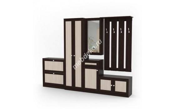 Мебель для прихожей Комби-2 с контрастными фасадами