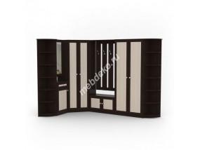Мебель в прихожую Комби-8 с угловым и распашным шкафами
