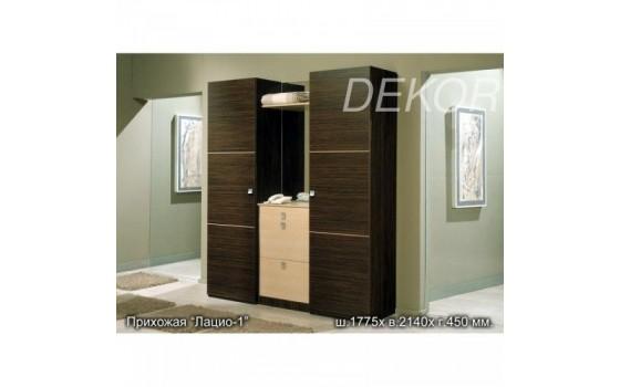 Мебель для прихожей Лацио-1 с двумя шкафами для одежды