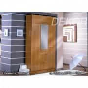 Комплект мебели для прихожей Лацио-4 с зеркалом и антресолью