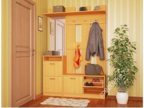 Набор мебели для прихожей Ольга-3 с обувницей и вешалками