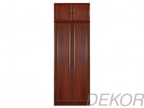 Шкаф распашной МДФ 2-х дверный с антресолью