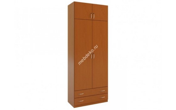 """""""Зодиак 2.2+А"""" шкаф распашной с антресолью и выдвижными ящиками"""