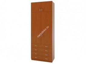 """Комбинированный распашной шкаф с антресолью """"Зодиак 2.4+А"""""""