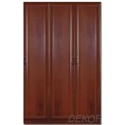 Шкаф распашной МДФ 3-х дверный