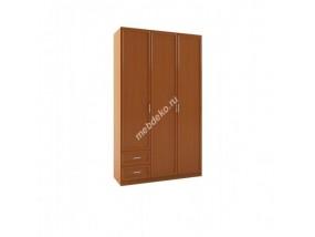 """Шкаф распашной комбинированный 3-х дверный """"Зодиак 3.10 МДФ"""""""