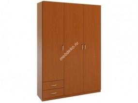 """Распашной шкаф с двумя выдвижными ящиками """"Зодиак 3.10"""""""