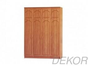 """Четырехстворчатый шкаф с распашными дверками """"4+А Мария"""""""