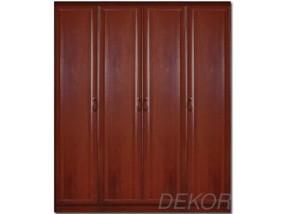 Шкаф распашной МДФ 4-х дверный