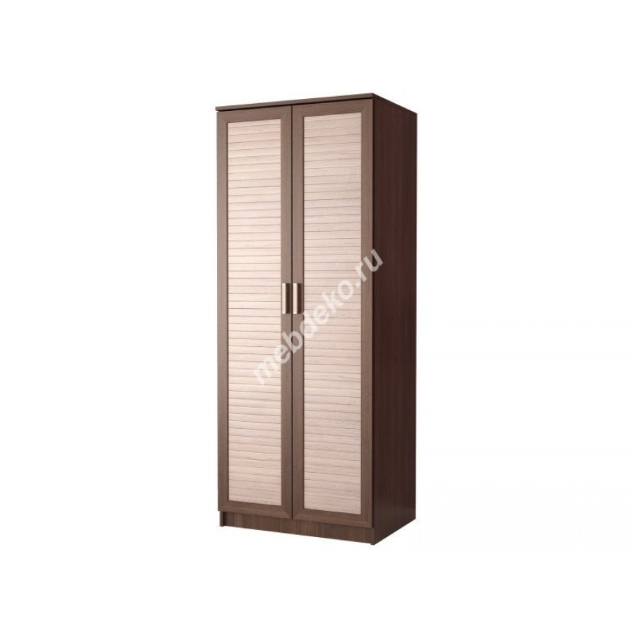 """Распашной двухдверный шкаф для одежды """"эрника-2""""."""