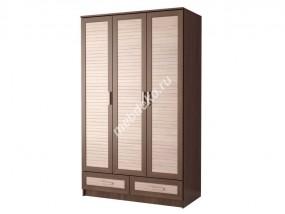"""Распашной трехстворчатый шкаф в спальню """"Эрника-3.2"""""""