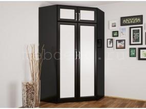 Угловой шкаф №25 двухдверный с антресолью