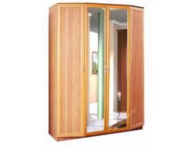 """""""Леон-2"""" шкаф распашной 4-х створчатый с зеркалами"""
