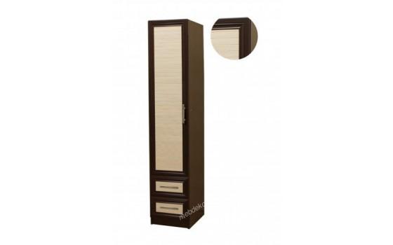 """""""Шкафыч-3"""" шкаф распашной одностворчатый с двумя выдвижными ящиками"""