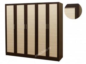 """Платяной шкаф с пятью распашными дверцами """"Шкафыч-6"""""""