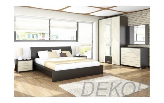 """Набор мебели для спальни """"Агат-2"""" с распашным 3-х створчатым шкафом"""