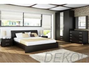 """Мебель для спальни """"Агат-3"""" с распашным шкафом и комодом"""