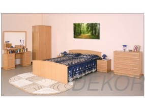 """Спальный гарнитур """"Арина-5"""" с 2-дверным шкафом и кроватью (1600х1900)"""