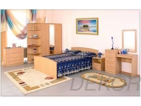 """Набор мебели для спальной комнаты """"Арина-6"""" с угловым элементом"""