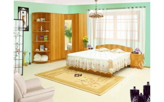 """Набор мебели в спальню """"Светлана-12"""" с угловым шкафом"""