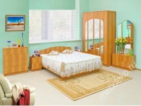"""Спальня """"Светлана-15"""" с трюмо и двумя прикроватными тумбами"""