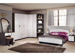 """Комплект мебели для спальной комнаты """"Светлана-21"""" с угловым шкафом"""