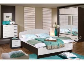 """Набор мебели в спальню """"Светлана-22"""" (двухспальная кровать с одной спинкой)"""
