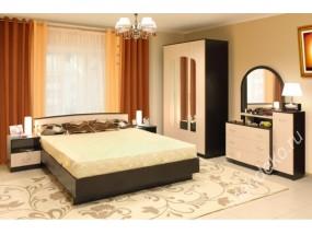 """Комплект мебели в спальню """"Светлана-25"""" с макияжным комодом"""