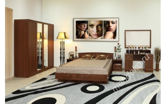 """Набор мебели для спальни """"Светлана М9"""" с туалетным столиком"""