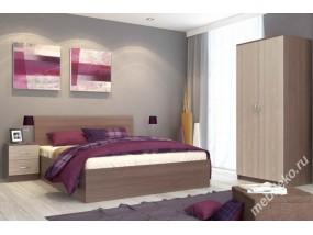 """Комплект мебели для спальни """"Татьяна-1"""" с двумя прикроватными тумбами"""