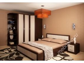 """Набор мебели в спальню """"Валерия-10"""" (фасады рамка МДФ) с угловым шкафом"""