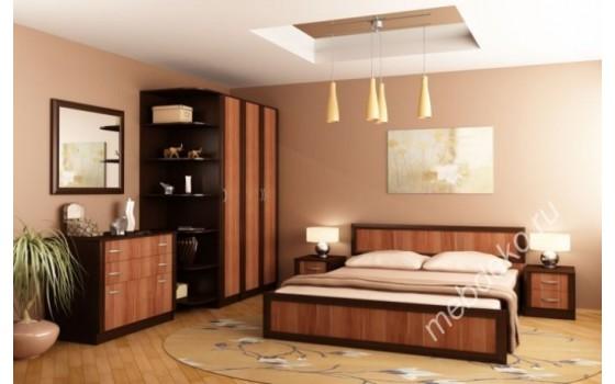 """Спальня """"Валерия-5"""" с угловым элементом и шкафом"""