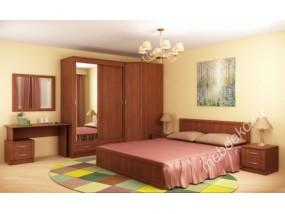 """Спальный гарнитур """"Валерия-8"""" с угловым шкафом и туалетным столиком"""