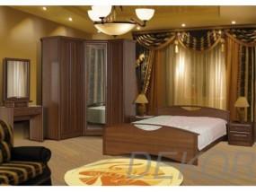 """Спальный гарнитур """"Юнна-3"""" с угловым шкафом и туалетным столиком"""