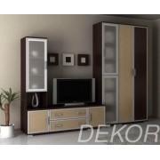 """Комплект мебели в гостиную с нишей под тв и рамкой мдф """"Аврелия-7"""""""