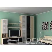 """Комплект мебели в гостиную комнату с рамкой мдф """"Аврелия-8"""""""