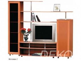 """Комплект мебели в гостиную с тонированным стеклом  """"Бетховен-1"""""""