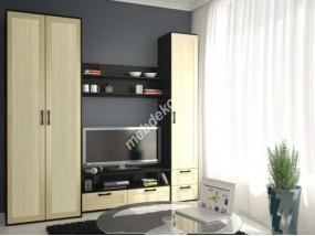 """Мебель для гостиной комнаты с двустворчатым платяным шкафом  """"Фламия-1"""""""