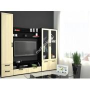 """Комплект мебели в гостиную  с одностворчатым шкафом и тумбочкой """"Фламия-4"""""""