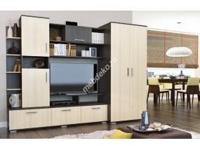 """Стенка в гостиную комнату с платяным шкафом из высококачественного лдсп """"Глэдис-2"""""""