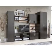 """Мебель для гостиной из лдсп с тумбой под телевизор """"Кантри-2"""""""