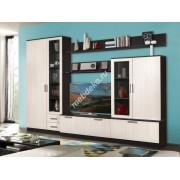 """Комплект мебели для гостиной с тонированным стеклом  """"Капри-5"""""""