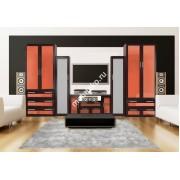 """Набор мебели для гостиной с 2 шкафами и выдвижными ящиками """"Комфорт Люкс-5"""""""